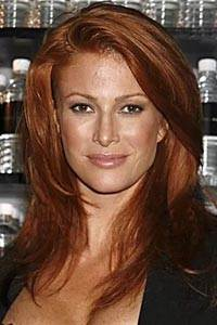 """Angela Kay """"Angie"""" Everhart American actress former model"""